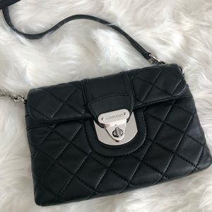 Calvin Klein chelsea quilted leather crossbody bag